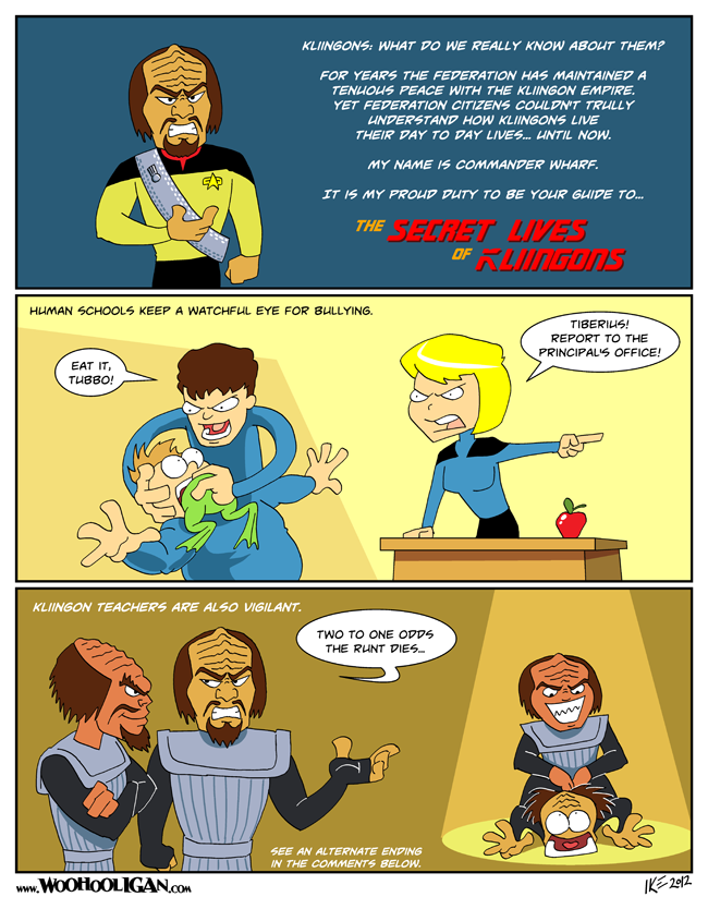 Secret Lives of Klingons!
